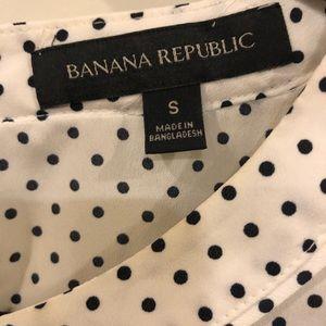 Banana Republic Tops - Banana Republic polka dot blouse